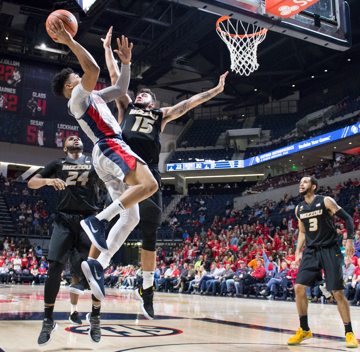 Ole Miss men's basketball heads to Baton Rouge for SEC showdown
