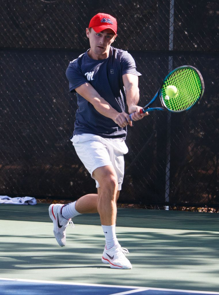 Ole Miss men's tennis defeats LSU 4-1, improves to 9-3 on ...