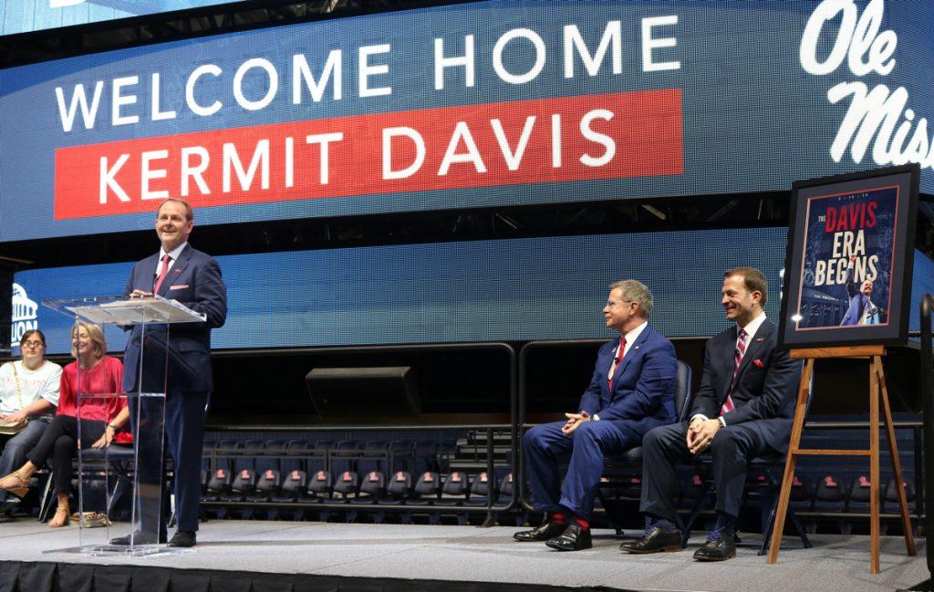 New Head Basketball Coach Kermit Davis Ready to Lead Ole Miss