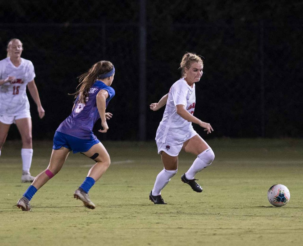 Ole Miss soccer team to face double game week vs. South Carolina and LSU