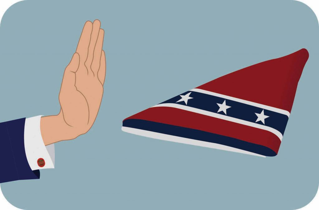 Boyce not bringing Confederate symbols back, Provost says
