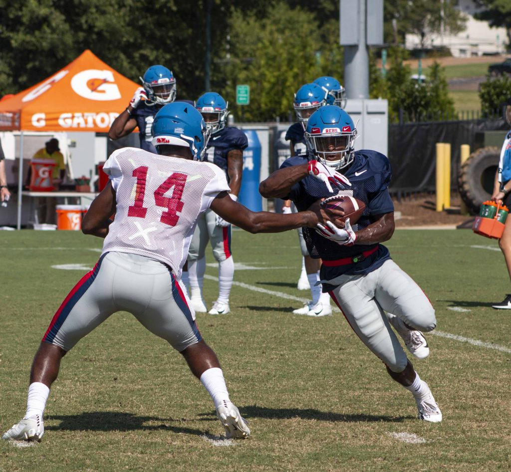Tylan Knight is the new Swiss Army Knife for the Ole Miss offense - The Daily Mississippian