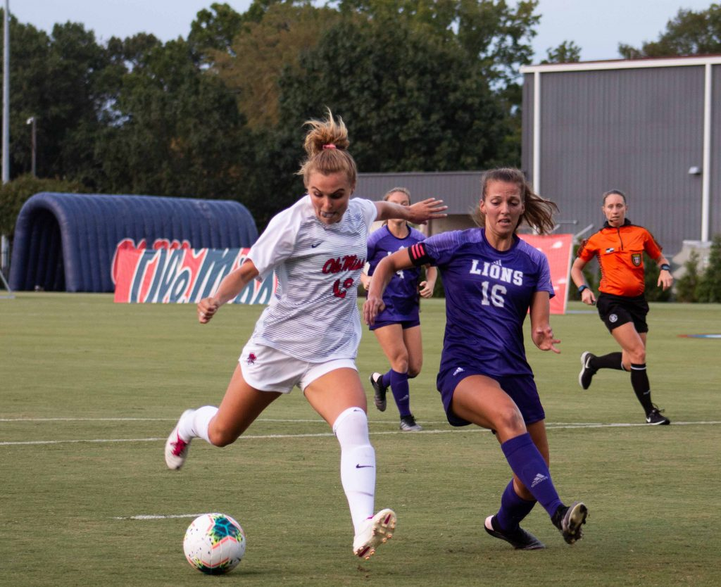 Ole Miss Soccer opens 2019 season victorious - The Daily Mississippian